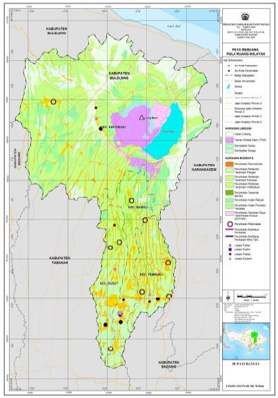 Peta | Pemerintah Kabupaten Bangli