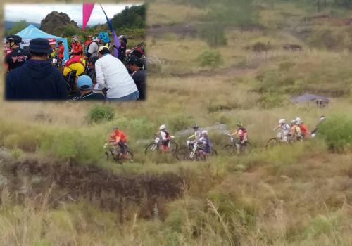 Kegiatan Bali Mountain Bike Marathon 2016 di Kawasan Batur Unesco Global Geopark