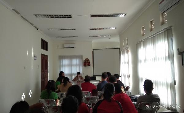 Rapat  pembahasan SPIP