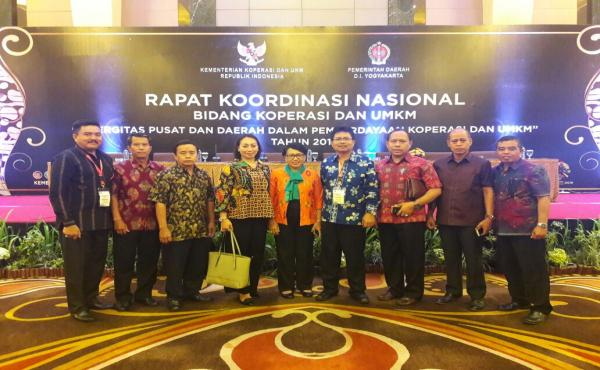 Rapat Koordinasi Nasional Bidang Koperasi dan UMKM Tahun 2018