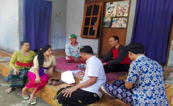 Seleksi dan Sosialisasi Calon Transmigrasi di Dusun Tabunan, Desa Undisan Tembuku Bangli