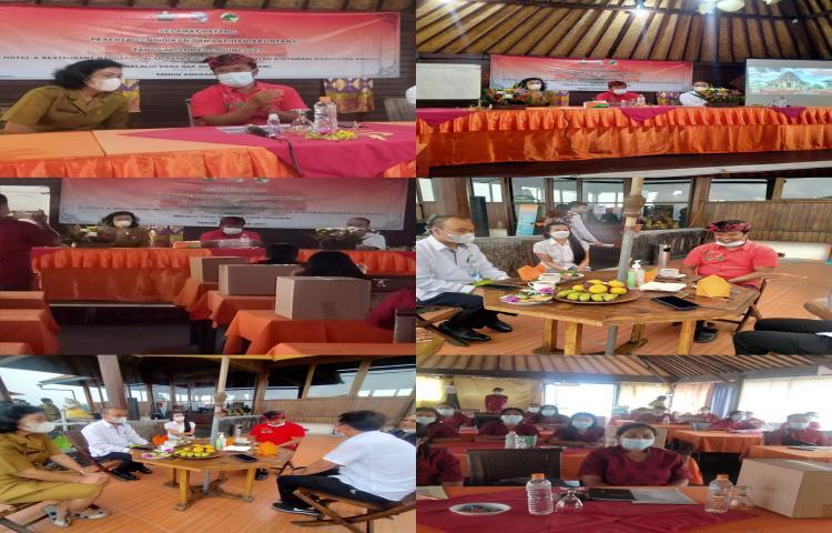 Bapak Bupati memberikan arahan kebijakan umum pemda dalam pelaksanaan Diklat Akuntansi Koperasi