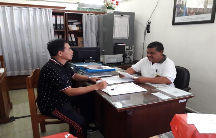 Koordinasi Bid. Pemberdayaan UMKM ke Dinas Koprasi UKM Provinsi Bali perihal Pameran Smesco