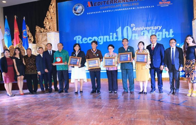 Pemda Bangli mendapat penghargaan dari Mediterranean Bali dalam acara