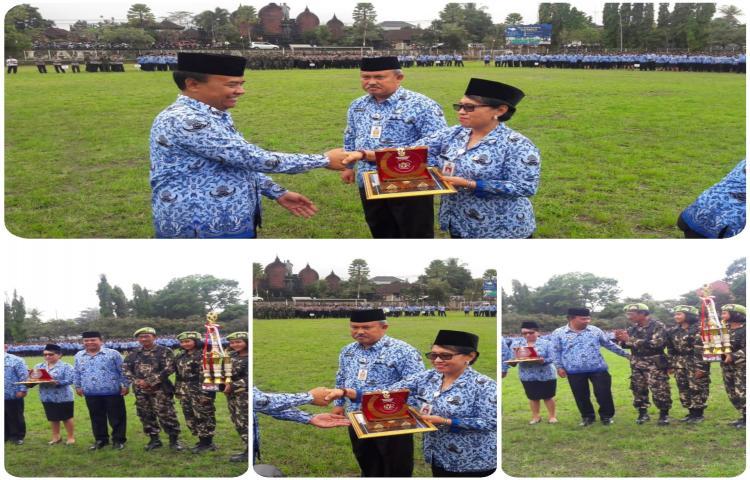 Pemerintah Kabupaten Bangli Terima Penghargaan KUR