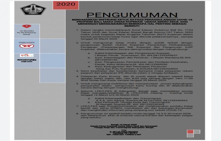 PENGUMUMAN-BERDASARKANINSTRUKSIKETUASATGASPENAGGULANGANCOVID19-PROPINSIBALIMAKADINASKOPERASIUSAHAMIKROKECILDAN-MENENGAHMENGUMUMKANBEBERAPAHALPENTINGSEBAGAI-BERIKUT.html