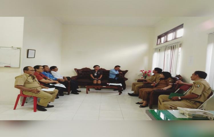 Rapat Pencanangan Koperasi Sekunder Tahun 2019, yang di Hadiri Pengurus dan Dekopinda serta para Pejabat Dinas Koperasi UMKM.Nakertrans