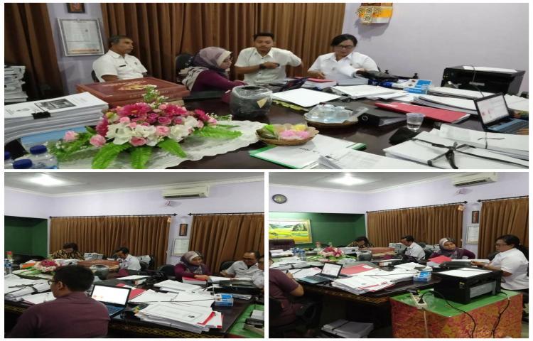 Penyampaian laporan Kegiatan DAK tahun 2019 ke Itjen Kemenkop UKM RI bertempat di Dinas koperasi Prov.Bali