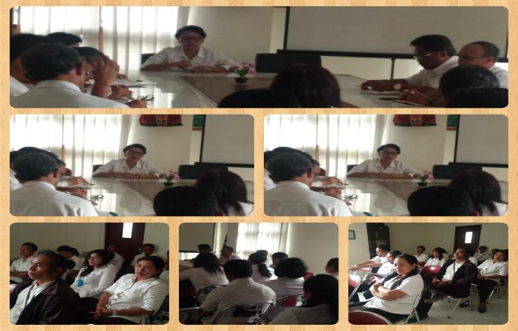 rapat awal tahun asn dinas koperasi UMKM Nakertrans