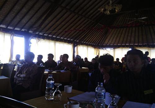 Sosialisasi Sapta Pesona  dan Pengenalan Budaya Jepang & Inggris di Kintamani
