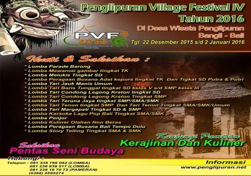 Penglipuran-Village-Festival-IV-Tahun-2016.html