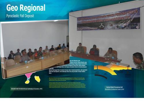 Pelatihan Kepada Pemandu Wisata Trekking tentang Geologi dan Geowisata Tahun 2015
