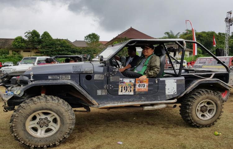 Adventure Bayung Gede (ABG) OFF Road, Salah Satu Event Menantang di Bangli