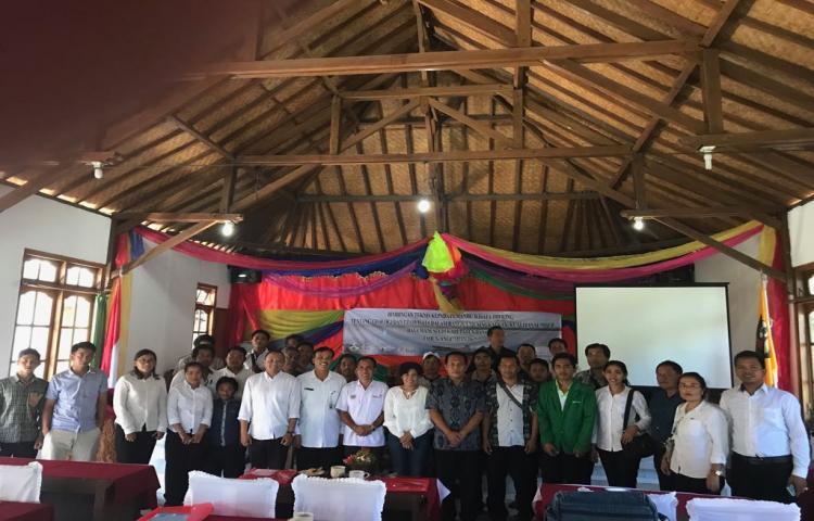 Bimbingan Teknis Tentang Geologi dan Geowisata kepada Pemandu Wisata Treking Kabupaten Bangli Tahun 2017