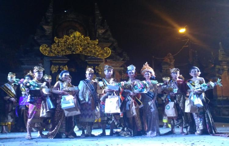 Jegeg dan Bagus Bangli 2017 Telah Terpilih