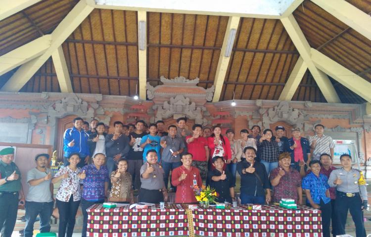 Pembinaan Kelompok Sadar Wisata (Pokdarwis) di Desa Bayung Gede