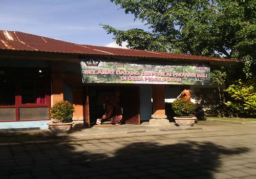 Kantor Sekretariat Pokdarwis Desa Penglipuran Saat Persiapan Penilaian Tanggal 12 Juni 2013