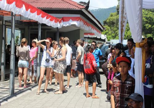 Kunjungan Wisatawan Dalam Kegiatan Festival Danau Batur III Tahun 2013