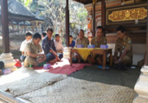 Pelatihan Kayu Di Desa Abuan, Kec. Susut, Kab. Bangli