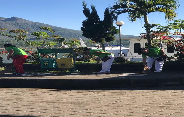 Tiga Bulan Bersih Sampah (TBBS) Libatkan Seluruh Instansi dalam Pembersihan Danau Batur