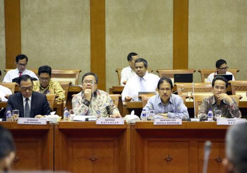 Raker Komisi XI DPR RI Pembahasan Asumsi Makro RKP