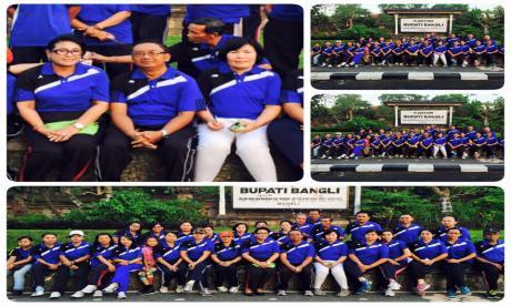 olahraga jumat crew BKDPSDM Kabupaten Bangli