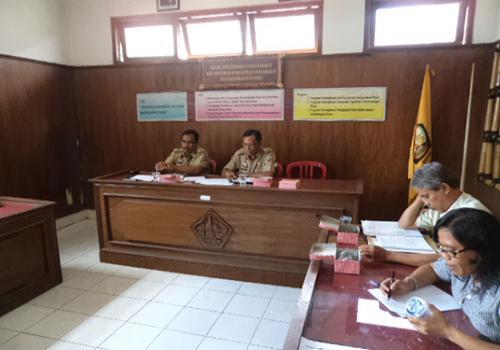 Rapat Koordinasi PNPM-MPd Kabupaten Bangli