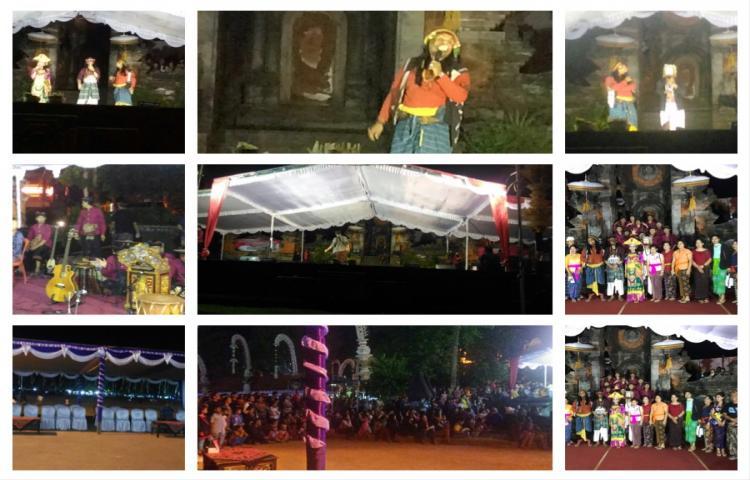 Pementasan Bondres Sanggar Tari & Tabuh. S.T.I Bali