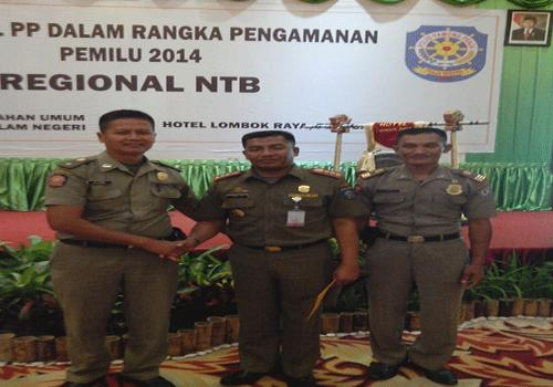 Kegiatan Dukungan Pengamanan Pemilu 2014
