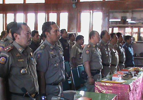 Kegiatan Rapat Kerja Sat. Pol. PP Provinsi Bali