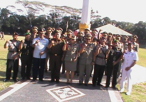 HUT Satpol PP Provinsi Bali Dipusatkan di Tabanan
