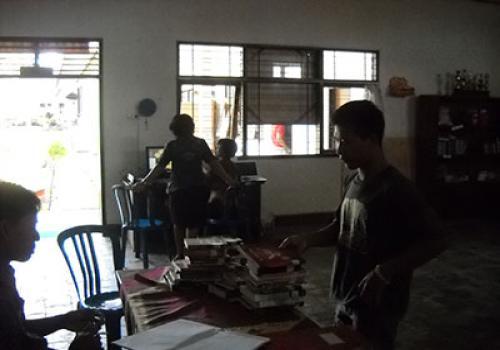 Foto Perpustakaan Kelililing Di LP Bangli