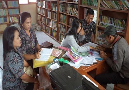 Pembinaan perpustakaan Sekolah