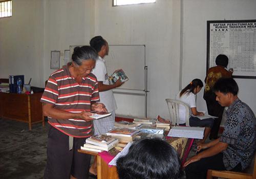Foto Perpustakaan Keliling Di LP Bangli