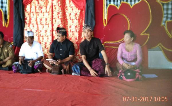 Pembinaan Sekaa Teruna di Desa Pakaraman Cekeng.
