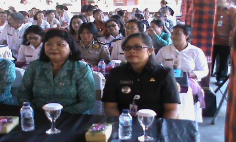 Penilaian Lomba Desa Tingkat Prop. Bali di Desa Apuan.