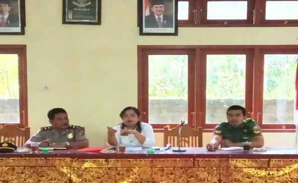 Rapat dlm rangka Peringatan HUT Propinsi Bali Ke-59 dan Kemerdekaan Republik Indonesia Ke-72.