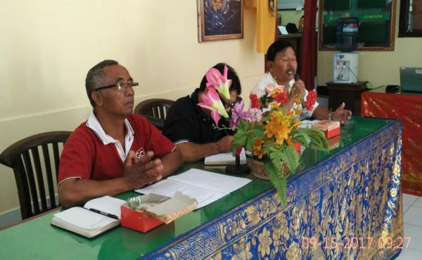 Rapat koordinasi penyusunan program Kampung KB di Desa Sulahan, Kec. Susut Kab. Bangli  pada tgl 15