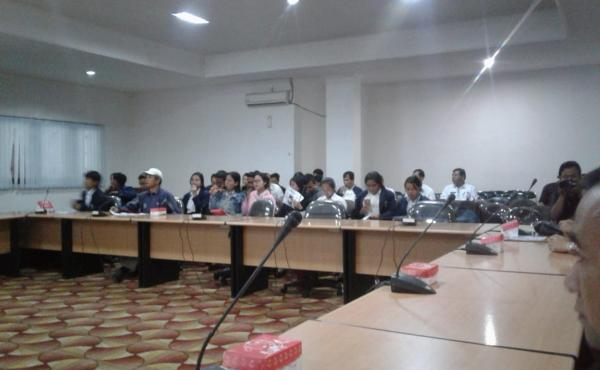 Sosialisasi e-SAMSAT di Aula IHDN kab. bangli  Rabu, 16 Mei 2018.