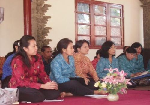 Desa Selat Duta Kab Bangli Dalam Lomba Desa TK Provinsi Bali