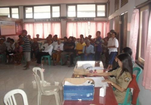 Perekaman Data e-KTP di Kecamatan Susut