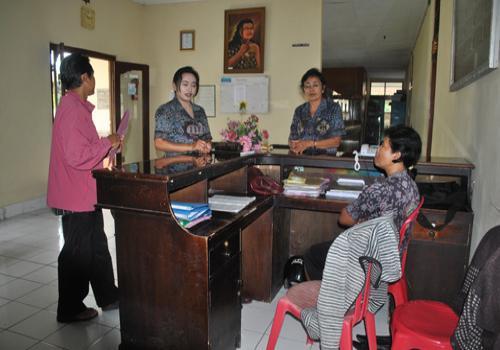 Suasana Kantor Disdikpora Bangli