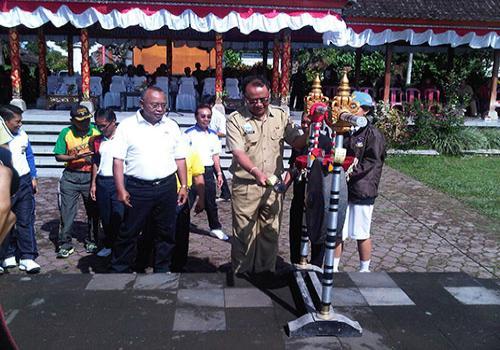 Pembukaan Porsenijar Kabupaten Bangli 2013