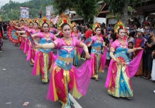 Parade Budaya Kelurahan Cempaga Bangli