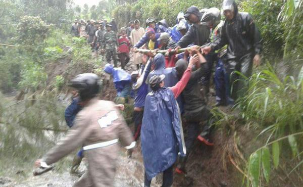 Bencana Longsor Kintamani Bangli