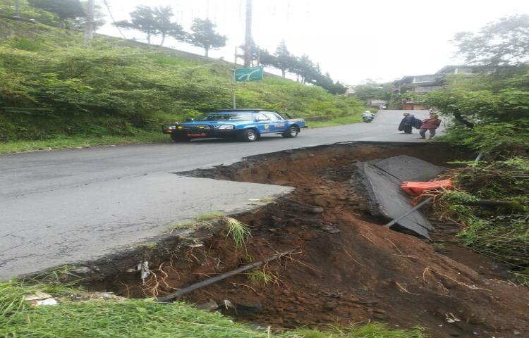 Update Info bencana tanah longsor BPBD Kab. BANGLI, prov. BALI