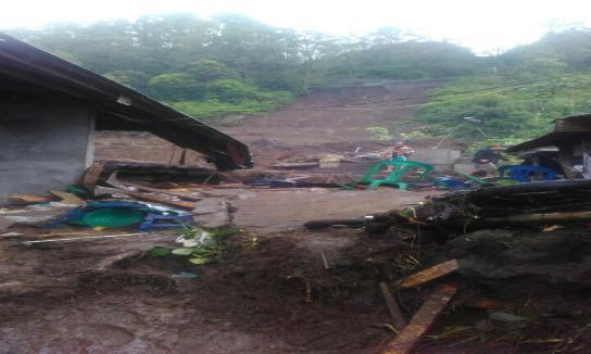 Bencana Longsor Kintamani Bangli 8