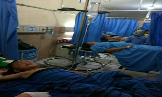 Laka Lantas Kecelakaan Tunggal di Trunyan Kintamani
