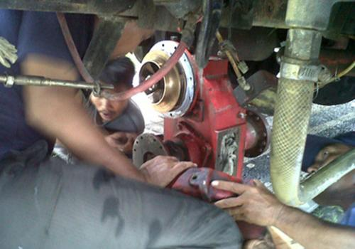 Perbaikan Kendaraan Pemadam Kebakaran