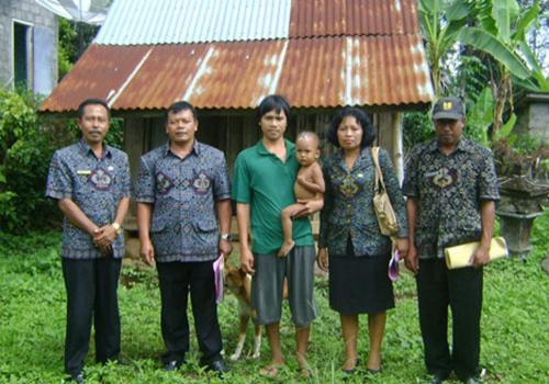 Kunjungan Nyame Anyar Bidang Sarana dan Prasarana ke Desa Kutuh dan Angansari